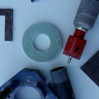 Fabrication presse étoupe en composite