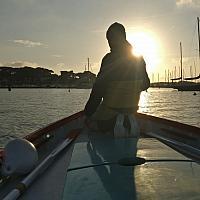 Pointu toulonnais dans le port du Brusc