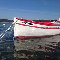 L'Artesien, pointu Toulonnais à la lagune du Brusc