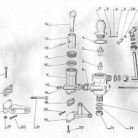 Pompe à eau à piston, cale et circulation Couach NC1